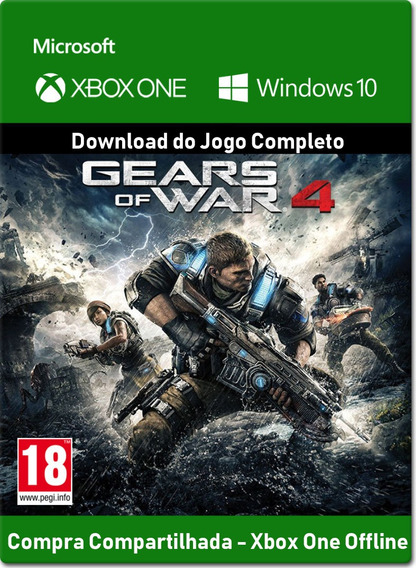 Gears Of War 4 - Xbox One - Digital - Offline