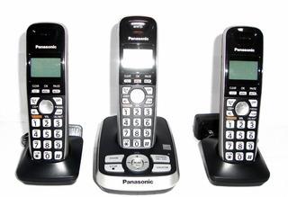 Telefono Panasonic Kx-tg4223 Triple Id Altavoz Cotestador