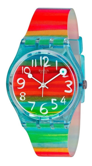 Relógio Feminino Swatch Color The Sky Gs124