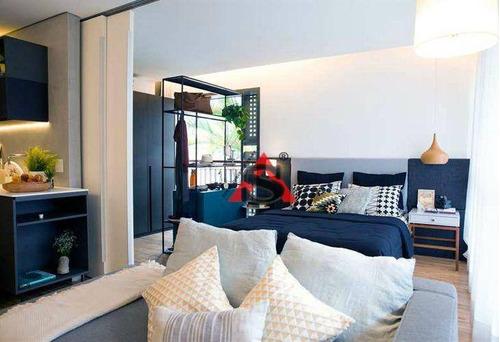 Imagem 1 de 9 de Studio Com 1 Dormitório À Venda, 40 M² Por R$ 775.390,00 - Moema - São Paulo/sp - St0200