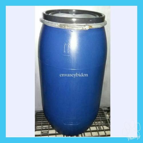 Bidon Plástico 150 Lts Con Tapa Y Aro Desmontable