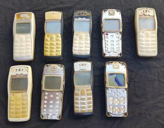 Lote Com 9 Celulares Nokia 1100 (leia A Descrição)