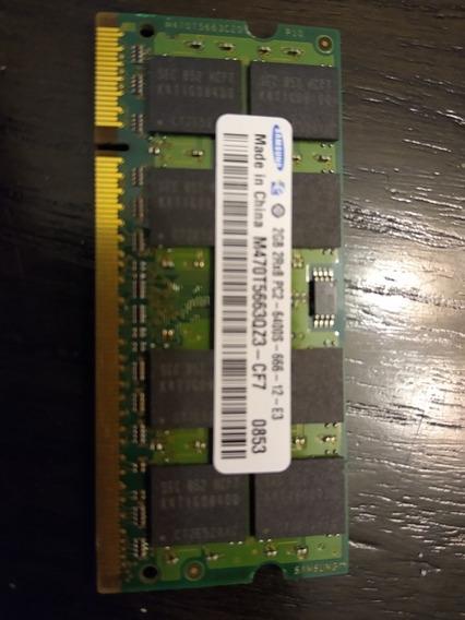 Memorias Samsung Ddr2 2gb Pc2-6400