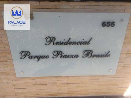 Imagem 1 de 13 de Apartamento Com 2 Dormitórios À Venda, 47 M² Por R$ 140.000,00 - Campestre - Piracicaba/sp - Ap0101