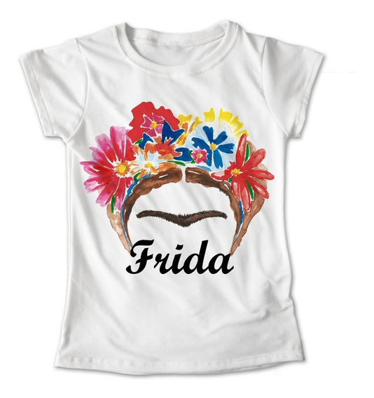 Blusa Frida Kahlo Mexico Colores Playera Estampado #322
