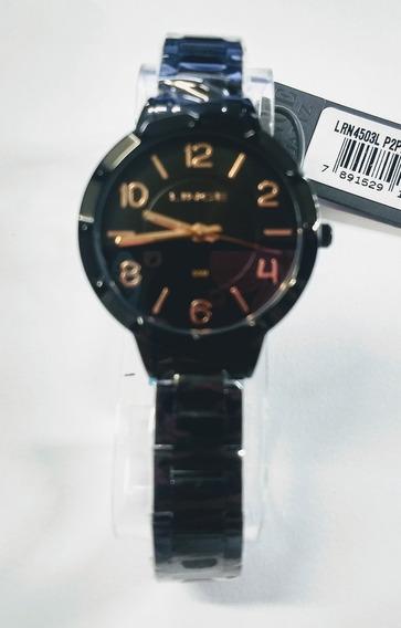 Relógio Lince Preto Original A Prova D