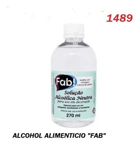 Imagen 1 de 1 de Alcohol Alimenticio Fab - 270 Ml       (1489)