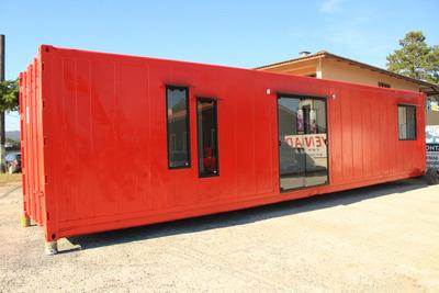 Casa Container Com 02 Quartos, 01 Banheiro