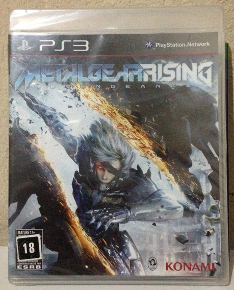 Ps3 - Metal Gear Rising Revengeance (lacrado)