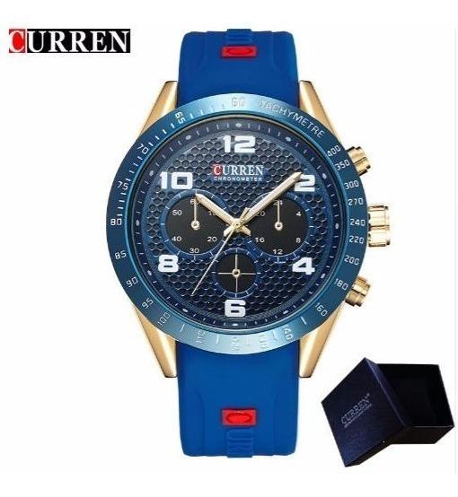 Relógio Masculino Curren Original De Alta Qualidade