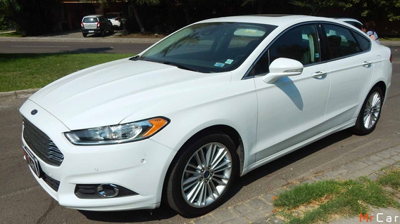 Ford Fusion Ecoboost 2015