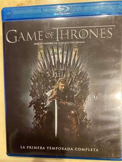 Película Blu Ray 3 D Game Of Thrones Temporada 1