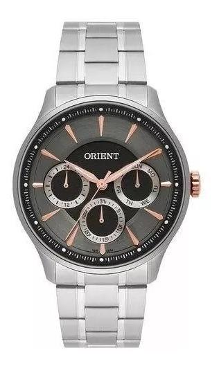 Relógio Orient Masculino Prata Mbssm081 G1sx - Promoção!