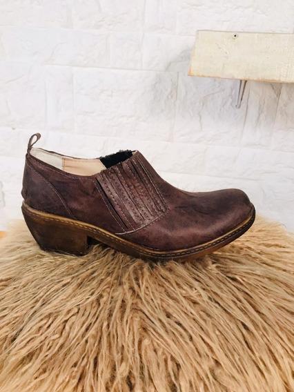 Calzado Botitas Tejanas Eco Cuero Excelente Calidad. Art4200