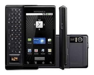Motorola A853 Milestone Preto Wi-fi,3g, 5.0mp - De Vitrine
