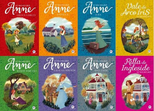 Série Completa Anne De Green Gables 8 Livros
