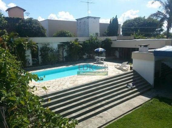 Casa Com 5 Dormitórios À Venda, 500 M² Por R$ 1.290.000,00 - Cruz - Lorena/sp - Ca3451