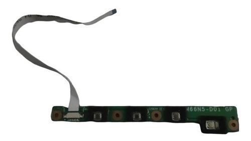 Botonera De Encendido Notebook Bangho M66sru M66 M660