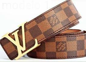 894f61a22 Cintos Louis Vuitton para Masculino no Mercado Livre Brasil