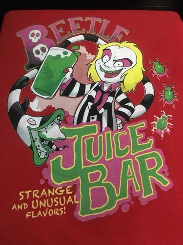 Imagen 1 de 2 de Beetlejuice - Juice Bar - Animacion - Polera- Cyco Records