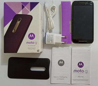 Motorola Moto G3 16gb Usado - Leia Atentamente O Anúncio!