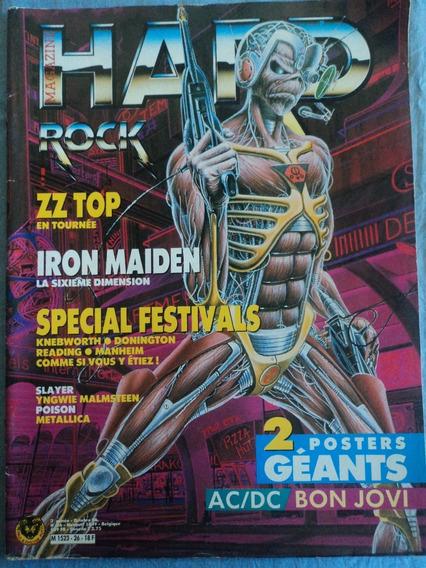 Revista-hard Rock Magazine:#26:iron Maiden,zz Top,slayer...