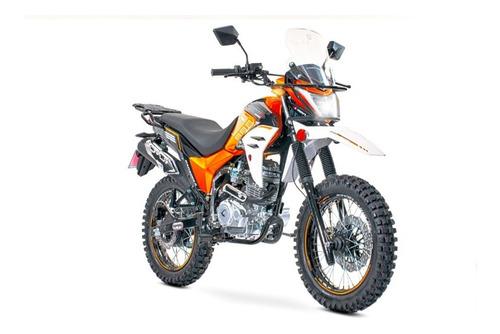 Imagen 1 de 10 de Motocicleta Carabela Route R Sonora 200 Naranja