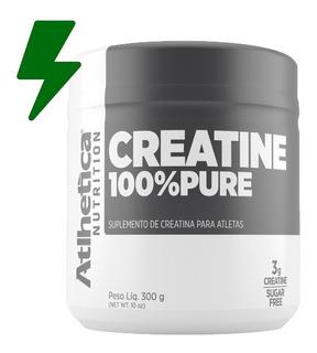 Creatina Creatine 100% Pura 300g - Atlhetica Nutrition
