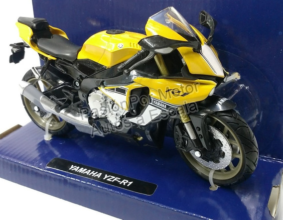 Yamaha Yzf-r1 2016 Amarilla Moto Pasion Por Motor