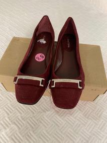 Zapato Calvin Klein De Dama 100% Original Color Vino