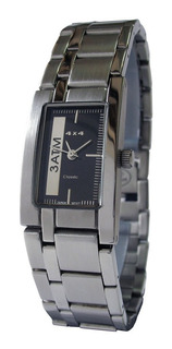 Reloj 4x4 Acero Sumergible Unisex Cyber Outlet