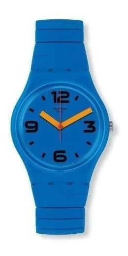 Reloj Análogo Swatch Pepeblu S Mujer