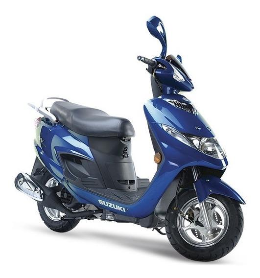 Suzuki An 125 0 Km Zeta Motos