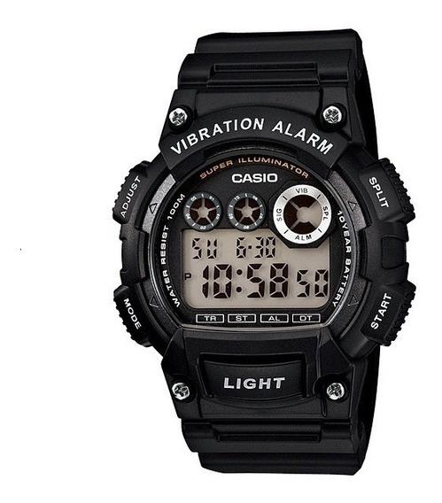 Relógio Casio W- 735h-1 Caixa Preta, Alarm Vibration, Light