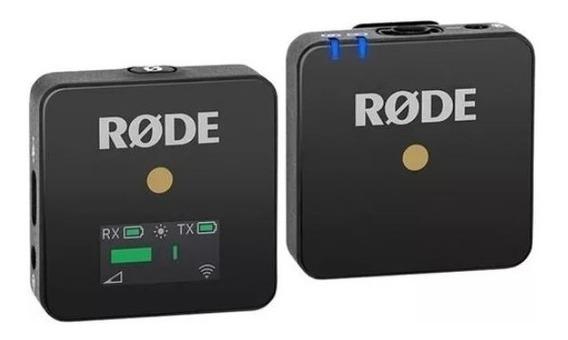 Rode Wireless Go Sistema De Microfone Sem Fio Com Nf