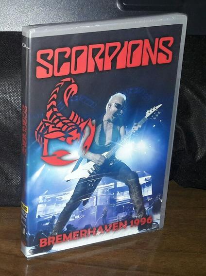 Dvd Scorpions Bremerhaven 1996 Original Novo Frete 7.00