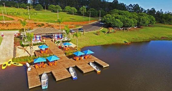 Terreno Residencial À Venda, Santa Bárbara Resort Residence, Águas De Santa Bárbara. - Te0014