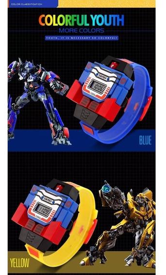 Relógio Transformers Optimus Prime