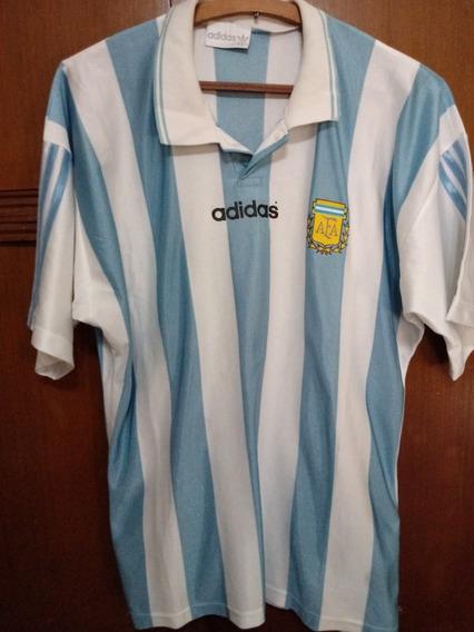 Camiseta De Seleccion Argentina Años 90 Talle 3.