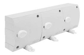 Varal Modular Retratil Automático - 3 Pçs Com 6 Metros Cada