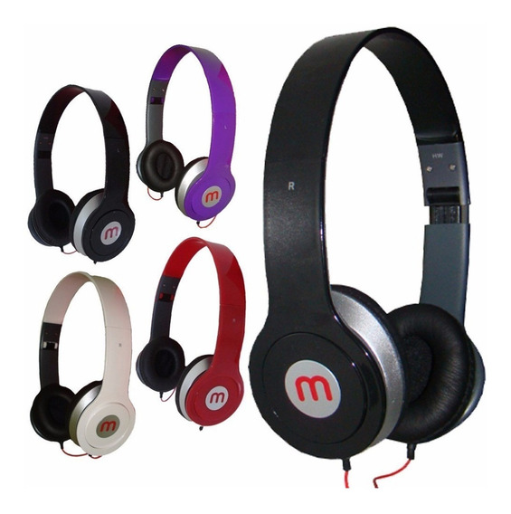 50 Fone Ouvido Mex Style Headphone - Preço Atacado
