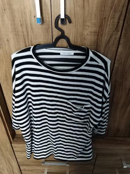 Blusa Camiseta Zara Trafaluc + Basic Feminina Tamanho M