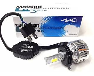 1 Bombillo Luz Led H4 Naom3 4000lm Altas/bajas Moto/carro Dc
