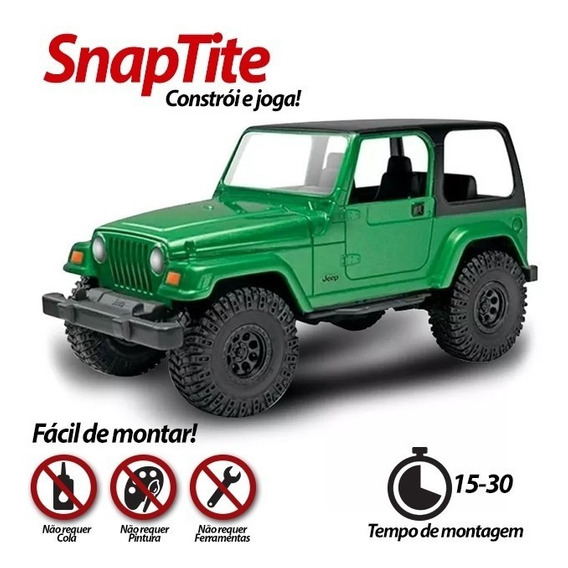 Plastimodelismo Revell Miniatura Jeep Wrangler Rubicon 1/25