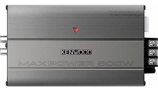 Amplificador Marino 4 Canales Clase D 600w Kenwood Kac-m3004