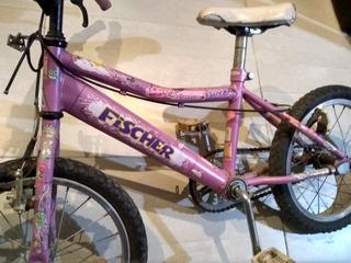 Bicicleta Fisher De Nena Rodado 12