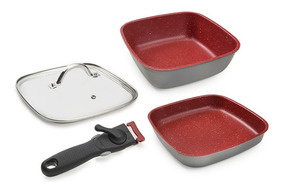 Panela Day By Day + Sauté Smart Square 24cm + Tampa + Cabo
