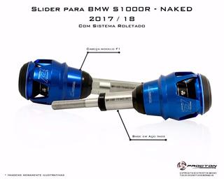 Slider F1 Procton Racing - Bmw S1000r Naked 2018 Nova