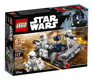 Lego Star Wars Primera Orden Transportador Speeder Battle