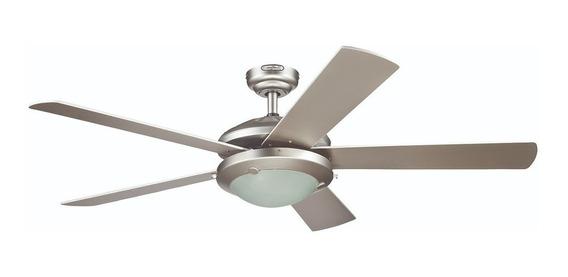 Coolfan Ventilador Lampara Techo Luz 5 Aspas Interior 47802